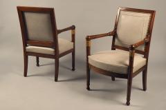 Pair of Armchairs France circa 1815 - 1180150