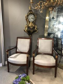 Pair of Armchairs France circa 1815 - 1180155