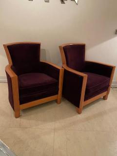Pair of Armchairs by Rosello Paris - 1955757