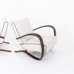 Pair of Art Deco Armchairs by Jindrich Halabala - 2070164