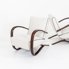 Pair of Art Deco Armchairs by Jindrich Halabala - 2070166
