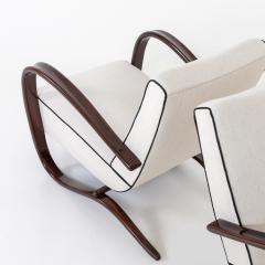 Pair of Art Deco Armchairs by Jindrich Halabala - 2070167