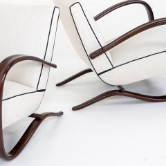 Pair of Art Deco Armchairs by Jindrich Halabala - 2070168