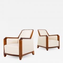 Pair of Art Deco Club Chairs - 2072227