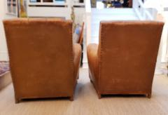 Pair of Art Deco Leather Chairs - 1796540
