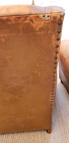 Pair of Art Deco Leather Chairs - 1796545
