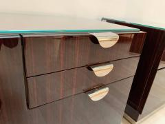 Pair of Art Deco Nightstands Rosewood Maple France circa 1930 - 1240279