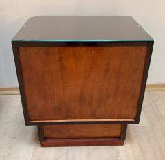 Pair of Art Deco Nightstands Rosewood Maple France circa 1930 - 1240285