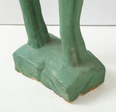 Pair of Art Deco Plaster Gazelle - 1155255