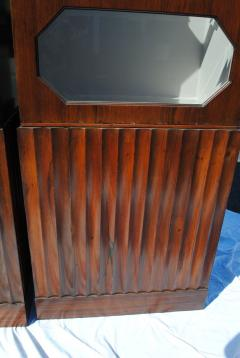 Pair of Art Deco Rosewood cabinets - 965253