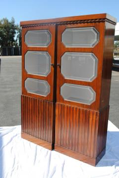 Pair of Art Deco Rosewood cabinets - 965254