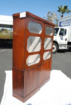Pair of Art Deco Rosewood cabinets - 965255
