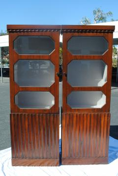 Pair of Art Deco Rosewood cabinets - 965256