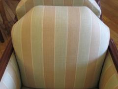 Pair of Art Deco Upholstered Club Chairs - 291503