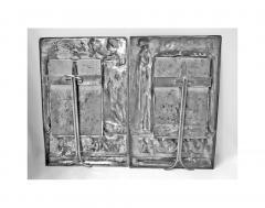 Pair of Art Nouveau Large Silver Plate Photograph Frames Germany C 1900 - 272459