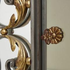 Pair of Art Nouveau gilt metal and steel vitrines - 1443689