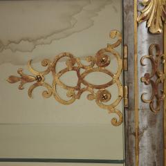 Pair of Art Nouveau gilt metal and steel vitrines - 1443690