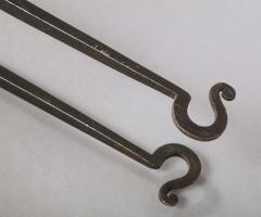 Pair of Arts Crafts Fire Tools - 1809093