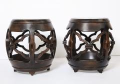 Pair of Asian Marble Topped Tables - 1061141