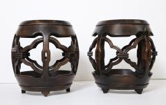 Pair of Asian Marble Topped Tables - 1061143