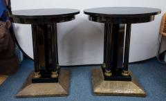 Pair of Austrian Secessionist Period Pedestal Side Tables - 416531
