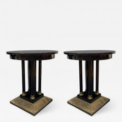 Pair of Austrian Secessionist Period Pedestal Side Tables - 416548
