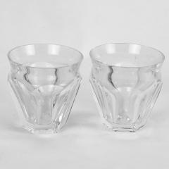 Pair of Baccarat Harcourt Talleyrand Espresso or Liqueur Glasses - 1160512