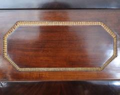 Pair of Baltic Neoclassic Mahogany Ebonized Parcel Gilt Mirrors - 358456