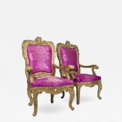 Pair of Baroque Armchairs - 738888