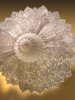 Pair of Barovier Toso Glass Plume Chandeliers - 1345995