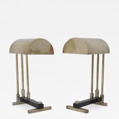 Pair of Bauhaus Table Lamps in the Style of Marcel Breuer - 1002664