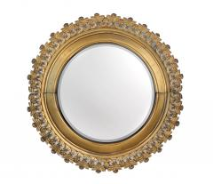 Pair of Berlin Cast Iron Circular Mirrors - 1853873