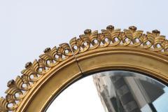 Pair of Berlin Cast Iron Circular Mirrors - 1853874