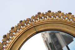 Pair of Berlin Cast Iron Circular Mirrors - 1853875