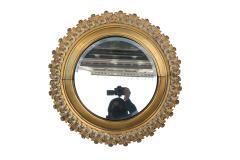 Pair of Berlin Cast Iron Circular Mirrors - 1853876