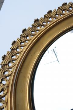 Pair of Berlin Cast Iron Circular Mirrors - 1853878
