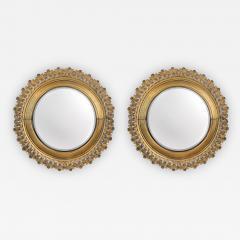 Pair of Berlin Cast Iron Circular Mirrors - 1853948