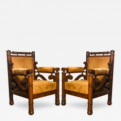 Pair of Biedermeier Armchairs - 110169