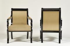 Pair of Biedermeier Armchairs - 499317