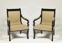 Pair of Biedermeier Armchairs - 499318