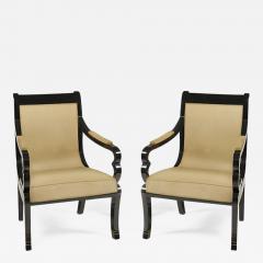 Pair of Biedermeier Armchairs - 500066
