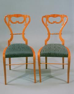 Pair of Biedermeier Lady s Side Chairs - 523979