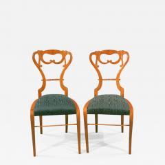 Pair of Biedermeier Lady s Side Chairs - 524727