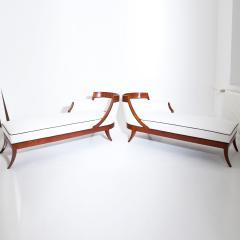 Pair of Biedermeier Recamiers - 1375721