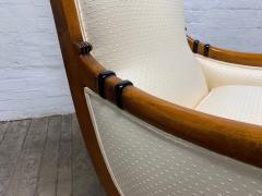 Pair of Biedermeier Style Lounge Chairs - 1060461