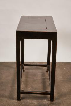 Pair Of Black Chinese Altar Tables   310188