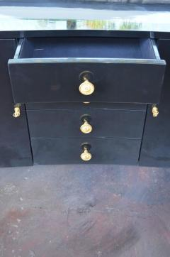 Pair of Black Lacquer Commodes by Kelly Wearstler - 230771