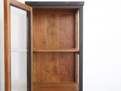 Pair of Black Wooden Vitrine Cabinets - 1253682