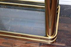 Pair of Brass Finish Etageres Attributed to Mastercraft - 1264509