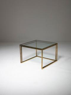 Pair of Brass Nesting Tables - 1037312